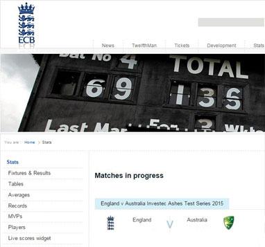 ECB  cricket live app