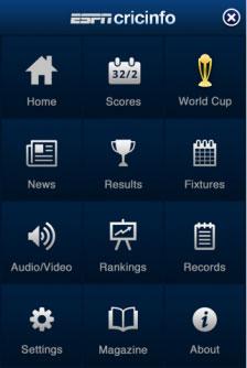ESPN Cricinfo App