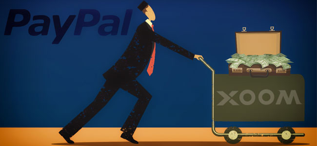 paypal and xoom
