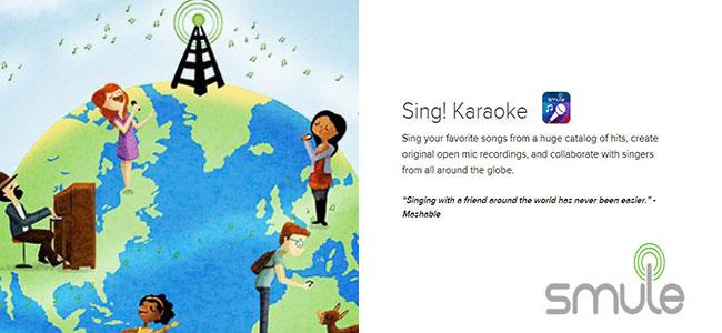 smule sing karaoke app