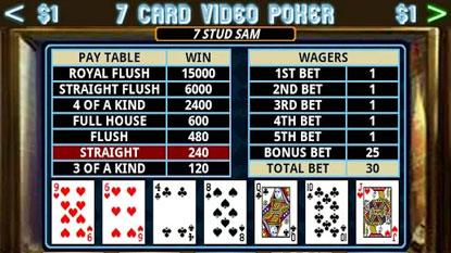 7cards poker app