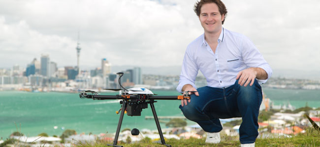 Matt Sweeny CEO Flirtey drone delivery