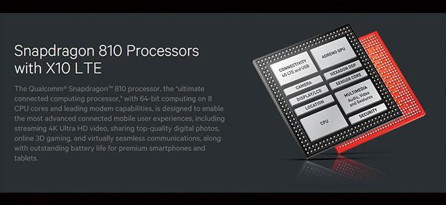 qualcomm 810 processor