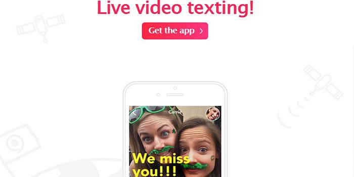 yahoo live video texting